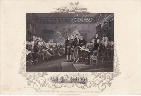 Declaration of Independence 4th July 1776