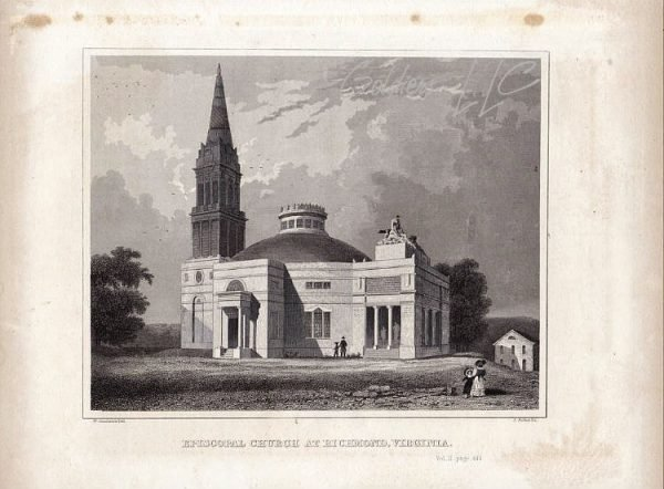 Episcopal Church at Richmond Virginia by W Goodacre 1846