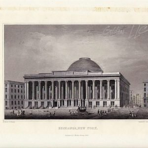 New York Stock Exchange in 1846